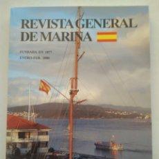 Coleccionismo de Revista Temas Españoles: REVISTA GENERAL DE MARINA ENERO+FEBRERO 2008. Lote 297122038