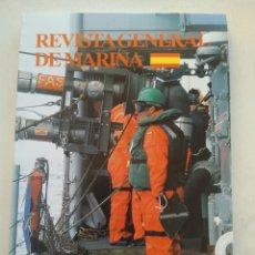 Coleccionismo de Revista Temas Españoles: REVISTA GENERAL DE MARINA NOVIEMBRE 2008. Lote 297122068