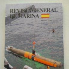 Coleccionismo de Revista Temas Españoles: REVISTA GENERAL DE MARINA MAYO 2011. Lote 297122153