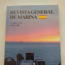 Coleccionismo de Revista Temas Españoles: REVISTA GENERAL DE MARINA JUNIO 2009. Lote 297122178