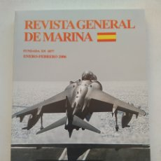 Coleccionismo de Revista Temas Españoles: REVISTA GENERAL DE MARINA ENERO-FEBRERO 2006. Lote 297122243