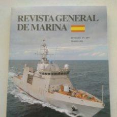 Coleccionismo de Revista Temas Españoles: REVISTA GENERAL DE MARINA MARZO 2011. Lote 297122258