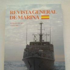 Coleccionismo de Revista Temas Españoles: REVISTA GENERAL DE MARINA MAYO 2009. Lote 297122293