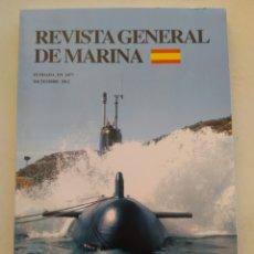 Coleccionismo de Revista Temas Españoles: REVISTA GENERAL DE MARINA DICIEMBRE 2012. Lote 297122478