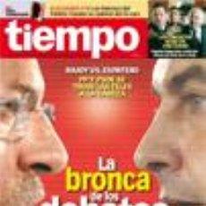 Coleccionismo de Revista Tiempo: REVISTA 'TIEMPO', Nº 1347. 15 DE FEBERERO DE 2008. ZAPATERO VS. RAJOY EN PORTADA.. Lote 20157309