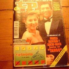 Coleccionismo de Revista Tiempo: REVISTA TP. Lote 21180924