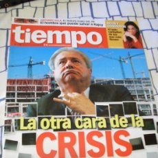 Coleccionismo de Revista Tiempo: REVISTA 'TIEMPO', Nº 1344. 25 DE ENERO DE 2008. CRISIS INMOBILIARIA.. Lote 8255924