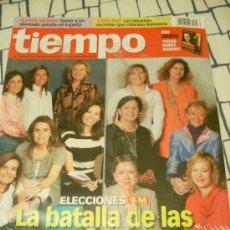 Coleccionismo de Revista Tiempo: REVISTA 'TIEMPO', Nº 1345. 1 DE FEBRERO DE 2008. MUJERES CANDIDATAS A LAS ELECCIONES GENERALES.. Lote 20849473