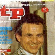 Coleccionismo de Revista Tiempo: REVISTA TP Nº1182. Lote 8727950