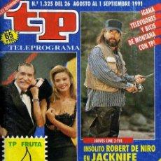 Coleccionismo de Revista Tiempo: REVISTA TP Nº1325. Lote 8727971