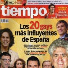 Coleccionismo de Revista Tiempo: REVISTA TIEMPO - JUNIO 2008 - MÁS SUPLEMENTO ESPECIAL VIAJES. Lote 9554959