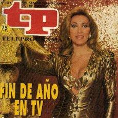 Collectionnisme de Magazine Tiempo: REVISTA TP **NÚMERO 1.604** FIN DE AÑO EN TV /**NORMA DUVAL**ISABEL GEMIO**EL GRAN WYOMING. Lote 10615763