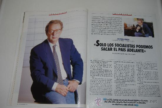 Coleccionismo de Revista Tiempo: revista tiempo nº 547, octubre 1992, port. felipe gonzález, regalo cinta vhs - Foto 2 - 27334042