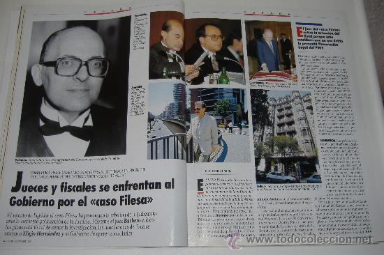 Coleccionismo de Revista Tiempo: revista tiempo nº 547, octubre 1992, port. felipe gonzález, regalo cinta vhs - Foto 4 - 27334042
