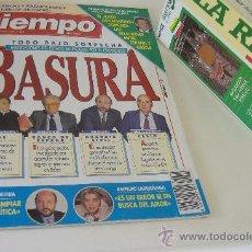 Coleccionismo de Revista Tiempo: REVISTA TIEMPO Nº 624, ABRIL 1994, PORT. LOS ESCANDALOS DEL GOBIERNO, REGALO CINTA VHS LA RIOJA. Lote 27334064