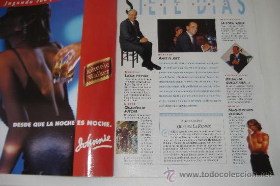 Coleccionismo de Revista Tiempo: revista tiempo nº 624, abril 1994, port. los escandalos del gobierno, regalo cinta vhs la rioja - Foto 2 - 27334064