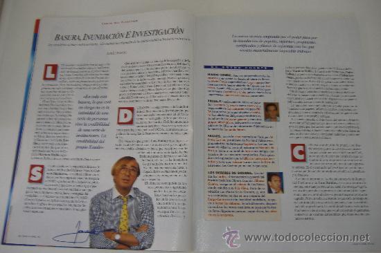 Coleccionismo de Revista Tiempo: revista tiempo nº 624, abril 1994, port. los escandalos del gobierno, regalo cinta vhs la rioja - Foto 3 - 27334064