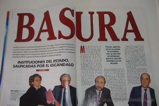 Coleccionismo de Revista Tiempo: revista tiempo nº 624, abril 1994, port. los escandalos del gobierno, regalo cinta vhs la rioja - Foto 5 - 27334064