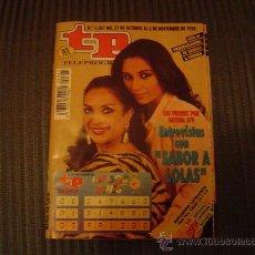 Coleccionismo de Revista Tiempo: REVISTA TP Nº 1387. Lote 15599471