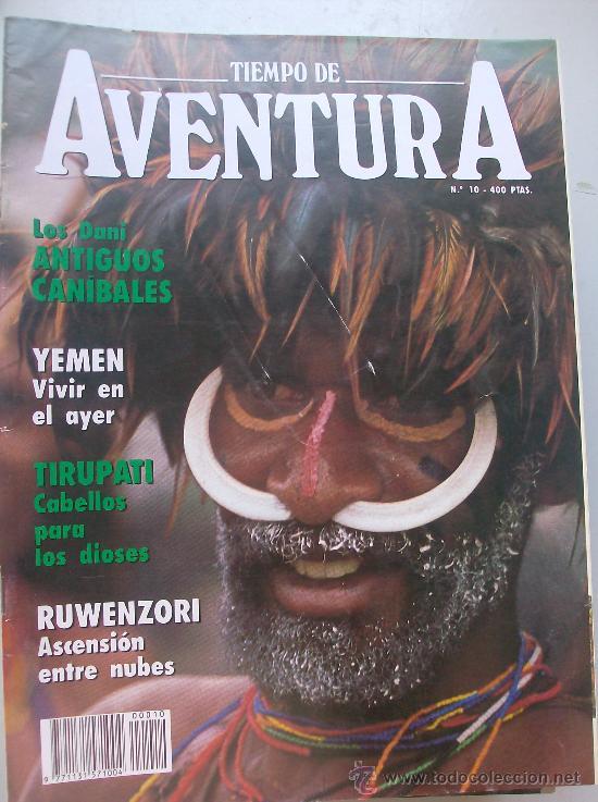 REVISTA TIEMPO DE AVENTURA Nº 10 (Coleccionismo - Revistas y Periódicos Modernos (a partir de 1.940) - Revista Tiempo)