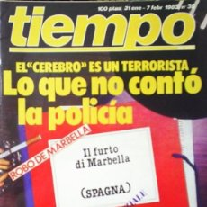 Coleccionismo de Revista Tiempo: REVISTA TIEMPO Nº 38 (1983). Lote 21329633