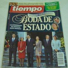 Coleccionismo de Revista Tiempo: REVISTA TIEMPO NRO.657 05 DICIEMBRE 1994-BODA DE ESTADO INFANTA ELENA JAIME MARICHALAR GRUPO ZETA. Lote 22510402