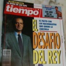 Coleccionismo de Revista Tiempo: REVISTA TIEMPO DE HOY-Nº597-11-OCTUBRE-1993-EL DESAFIO DEL REY-. Lote 23344688