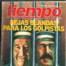 Coleccionismo de Revista Tiempo: REVISTA TIEMPO - Nº 4 - 7 DE JUNIO DE 1982 - MÁS DE 100 PAGINAS. Lote 24126871