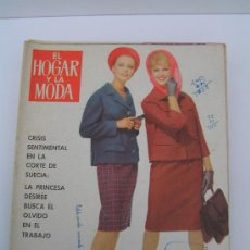 Coleccionismo de Revista Tiempo: REVISTA: EL HOGAR Y LA MODA NUM: 1459 - 5 FEBRERO 1963. MODA PRIMAVERA, LABOR DE BORDADO. ETC. Lote 25583009