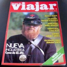 Coleccionismo de Revista Tiempo: REVISTA TIEMPO DE VIAJAR- NUMERO 57 - ABRIL 1990 - NUEVA INGLATERRA. Lote 26114796