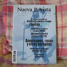 Coleccionismo de Revista Tiempo: NUEVA REVISTA DE POLÍTICA, CULTURA Y ARTE Nº 79 ENERO-FEBRERO 2002. Lote 28164484