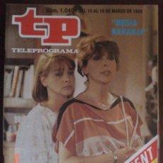 Coleccionismo de Revista Tiempo: TP TELEPROGRAMA Nº 1040 DEÑ 10 AL 16-3-1986