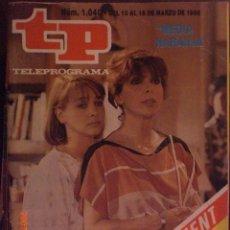 Coleccionismo de Revista Tiempo: TP TELEPROGRAMA Nº 1040 DEL 10 AL 16-3-1986