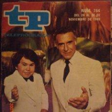 Coleccionismo de Revista Tiempo: TP TELEPROGRAMA Nº 764 DEL 24 AL 30-11-1980. Lote 28811746