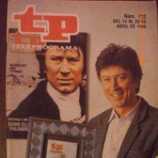 Coleccionismo de Revista Tiempo: TP TELEPROGRAMA Nº 732 DEL 14 AL 20 -4-1980. Lote 28812736