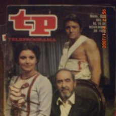 Coleccionismo de Revista Tiempo: TP TELEPROGRAMA Nº 658 DEL 13 AL 19-11-1978 PEPITA JIMENEZ. Lote 35586675