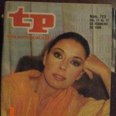 Coleccionismo de Revista Tiempo: TP TELEPROGRAMA Nº 723 DEL 11 AL 17-2-1980 MONICA RANDALL. Lote 28822006
