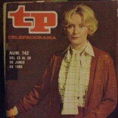 Coleccionismo de Revista Tiempo: TP TELEPROGRAMA Nº 742 DEL 23 AL 29-6-1980 LA FUNDACION. Lote 28836579