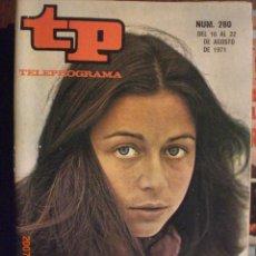 Coleccionismo de Revista Tiempo: TP TELEPROGRAMA Nº 280 DEL 16 AL 22-8-1971 EMMA COHEN. Lote 28864435
