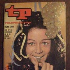 Coleccionismo de Revista Tiempo: TP TELEPROGRAMA Nº 299 DEL 27 AL 2-1-1972 EMMA COHEN. Lote 28864554