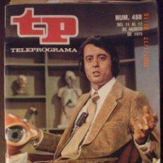 Coleccionismo de Revista Tiempo: TP TELEPROGRAMA Nº 488 DEL 11 AL 17-8-1975 DOCTOR ROSADO. Lote 28866972