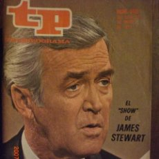 Coleccionismo de Revista Tiempo: TP TELEPROGRAMA Nº 356 DEL 22 AL 28-1-1973 JAMES STEWART. Lote 28867200