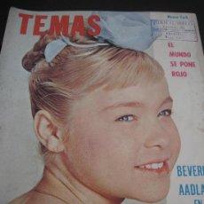 Coleccionismo de Revista Tiempo: 1961. REVISTA TEMAS EDITADA EN USA. PORTADA MARISOL. Lote 28878140