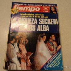Collectionnisme de Magazine Tiempo: REVISTA TIEMPO Nº320, 27 DE JUNIO AL 3 DE JULIO DE 1988 (LA RIQUEZA SECRETA DE LOS ALBA). Lote 29169539