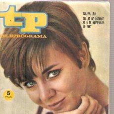 Coleccionismo de Revista Tiempo: TP TELEPROGRAMA NUM. 82 : ELENA MARIA TEJEIRO & MONICA RANDALL . Lote 29203398