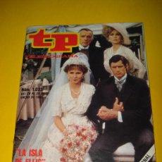 Coleccionismo de Revista Tiempo: ANTIGUA REVISTA TP TELEPROGRAMA Nº 1.033 ENERO DE 1986 .LA ISLA DE HELLIS .. Lote 29396321