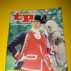 Coleccionismo de Revista Tiempo: ANTIGUA REVISTA TP TELEPROGRAMA Nº 1.041 MARZO DE 1986 .GEORGE WASHINGTON .. Lote 29396397