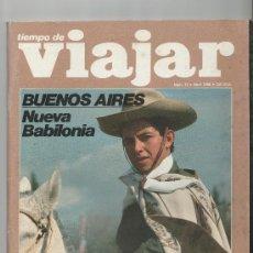 Coleccionismo de Revista Tiempo: REVISTA TIEMPO DE VIAJAR Nº 33 (ABRIL 1998). Lote 29585400