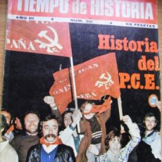 Coleccionismo de Revista Tiempo: REVISTA TIEMPO DE HISTORIA - HISTORIA DEL P.C.E.. Lote 29635249