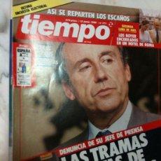 Coleccionismo de Revista Tiempo: REVISTA TIEMPO Nº 371 12/06/1989 LAS TRAMAS OCULTAS DE RUIZ MATEOS-LOS BOYER EN ROMA. Lote 30156417